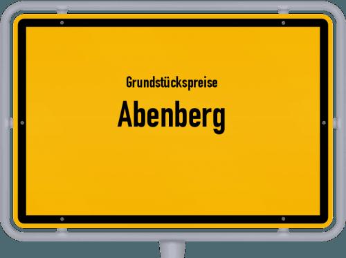 Grundstückspreise Abenberg 2019