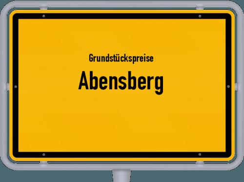 Grundstückspreise Abensberg 2019