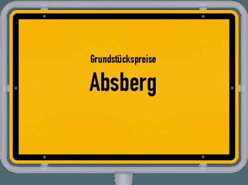 Grundstückspreise Absberg 2021