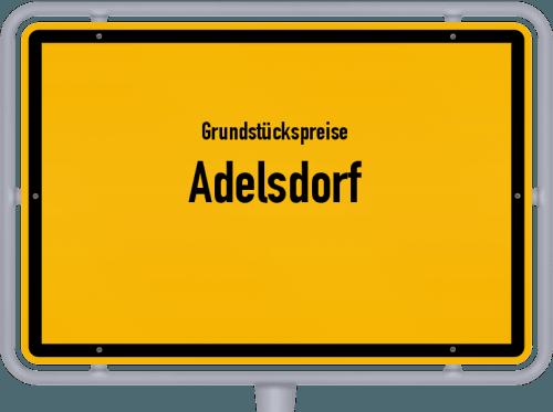 Grundstückspreise Adelsdorf 2019