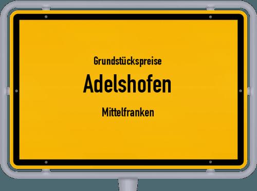 Grundstückspreise Adelshofen (Mittelfranken) 2019