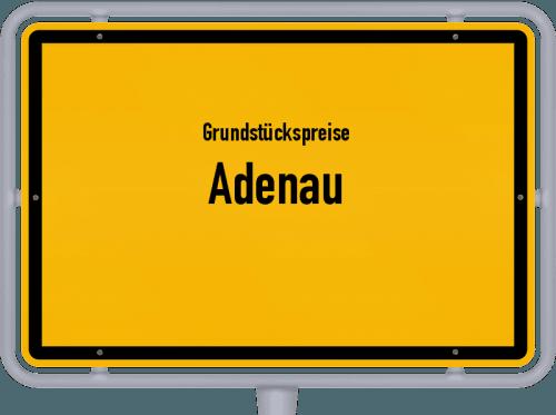 Grundstückspreise Adenau 2019
