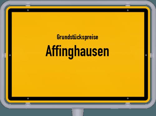 Grundstückspreise Affinghausen 2019