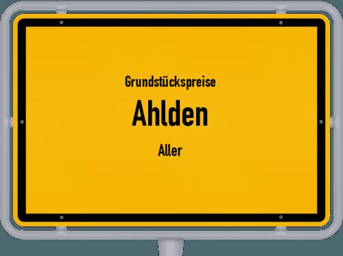 Grundstückspreise Ahlden (Aller) 2021