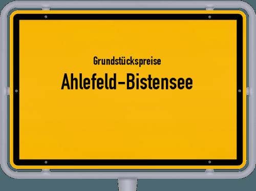 Grundstückspreise Ahlefeld-Bistensee 2021