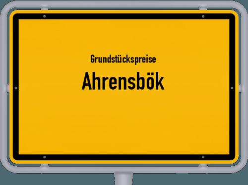 Grundstückspreise Ahrensbök 2021