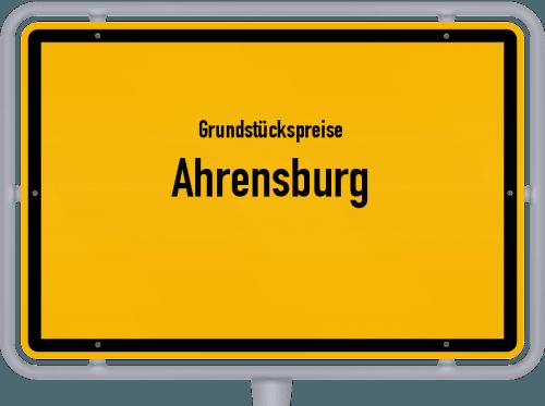 Grundstückspreise Ahrensburg 2021