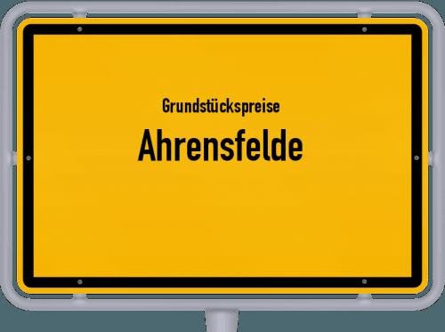 Grundstückspreise Ahrensfelde 2021