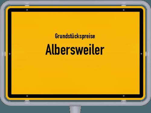 Grundstückspreise Albersweiler 2019
