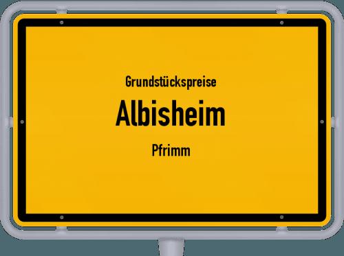 Grundstückspreise Albisheim (Pfrimm) 2019