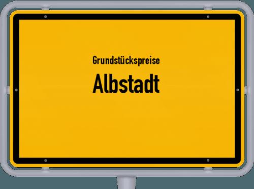 Grundstückspreise Albstadt 2021