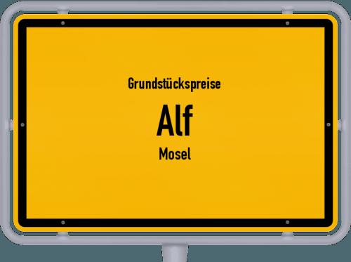 Grundstückspreise Alf (Mosel) 2019