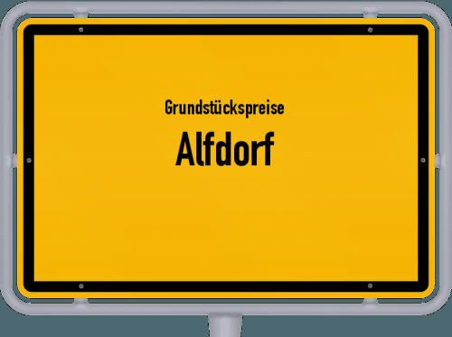 Grundstückspreise Alfdorf 2021