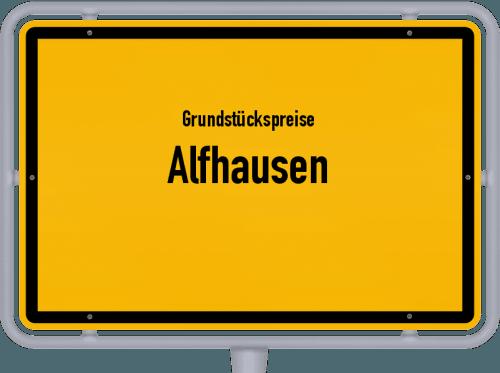 Grundstückspreise Alfhausen 2019
