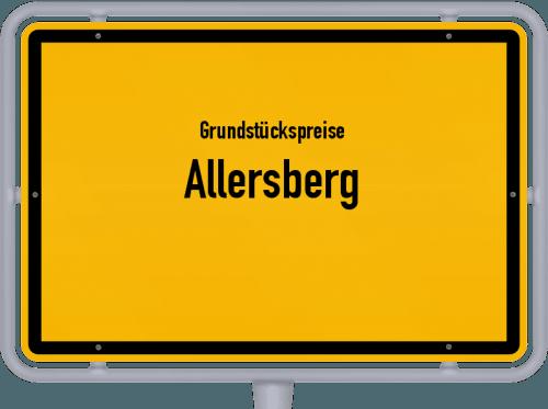 Grundstückspreise Allersberg 2021