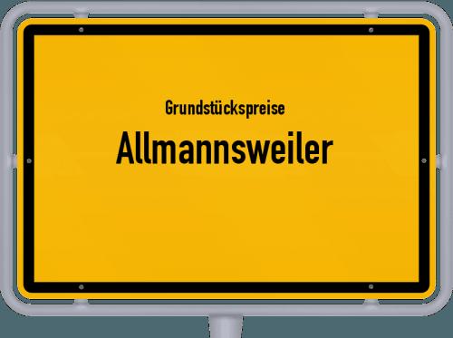 Grundstückspreise Allmannsweiler 2021