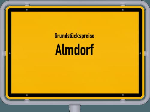 Grundstückspreise Almdorf 2021
