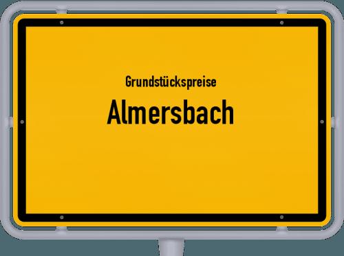 Grundstückspreise Almersbach 2019