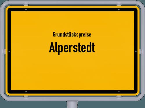 Grundstückspreise Alperstedt 2019