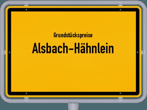 Grundstückspreise Alsbach-Hähnlein 2018