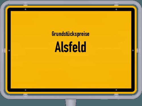 Grundstückspreise Alsfeld 2018