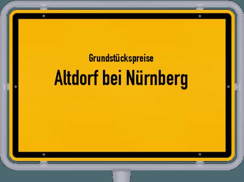 Grundstückspreise Altdorf bei Nürnberg 2020