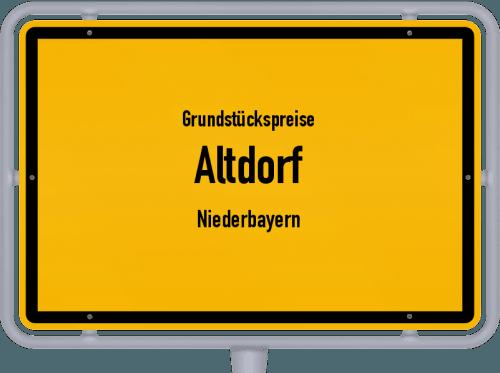 Grundstückspreise Altdorf (Niederbayern) 2019