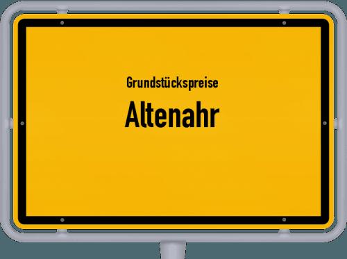 Grundstückspreise Altenahr 2019