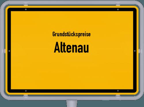 Grundstückspreise Altenau 2021