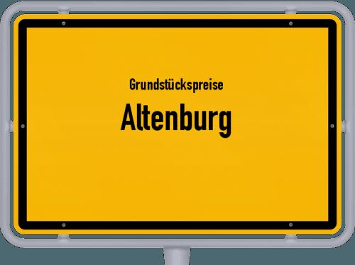 Grundstückspreise Altenburg 2019