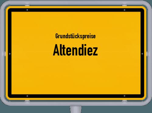 Grundstückspreise Altendiez 2019