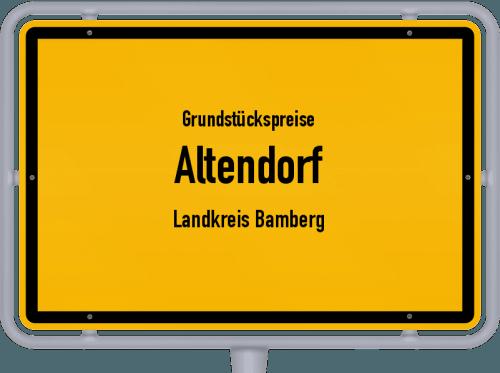 Grundstückspreise Altendorf (Landkreis Bamberg) 2021