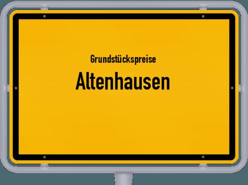 Grundstückspreise Altenhausen 2021