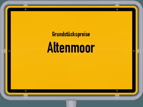 Grundstückspreise Altenmoor 2021