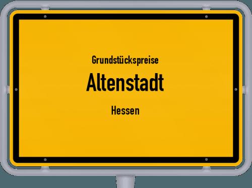 Grundstückspreise Altenstadt (Hessen) 2020