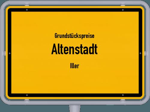 Grundstückspreise Altenstadt (Iller) 2019