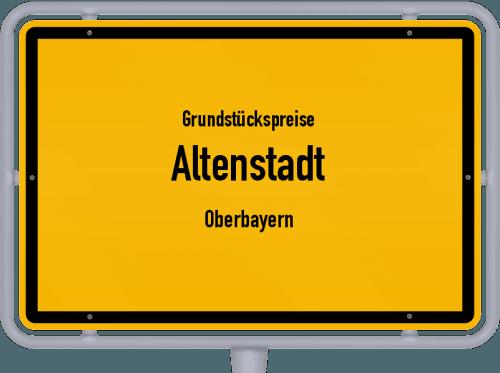 Grundstückspreise Altenstadt (Oberbayern) 2019