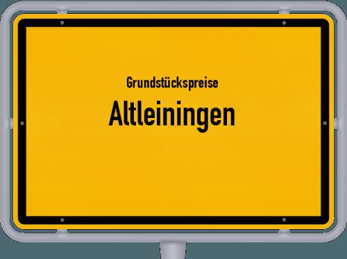 Grundstückspreise Altleiningen 2019