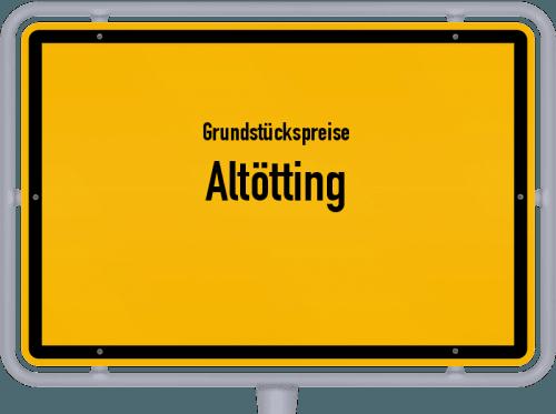 Grundstückspreise Altötting 2019