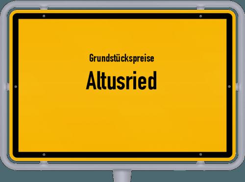Grundstückspreise Altusried 2019