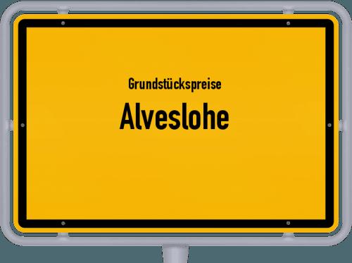 Grundstückspreise Alveslohe 2021