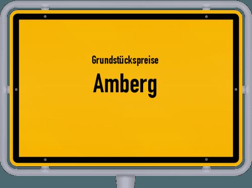 Grundstückspreise Amberg 2021