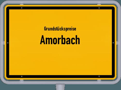 Grundstückspreise Amorbach 2019