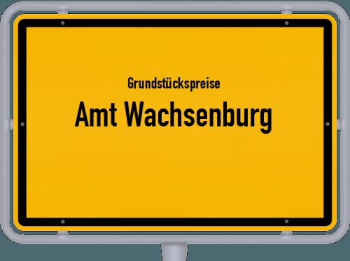 Grundstückspreise Amt Wachsenburg 2019