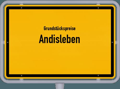 Grundstückspreise Andisleben 2019
