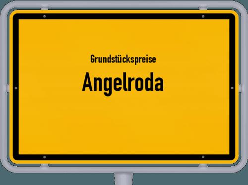 Grundstückspreise Angelroda 2019