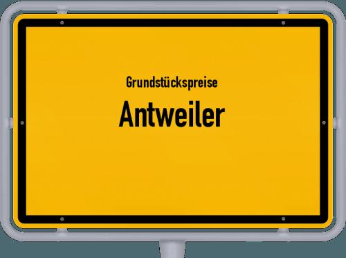 Grundstückspreise Antweiler 2019