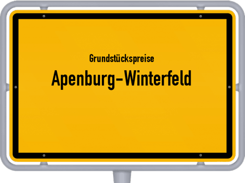 Grundstückspreise Apenburg-Winterfeld 2021
