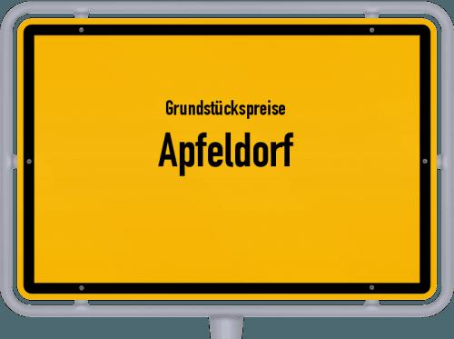 Grundstückspreise Apfeldorf 2021