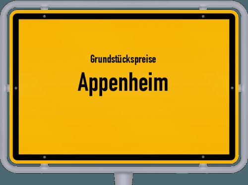 Grundstückspreise Appenheim 2019
